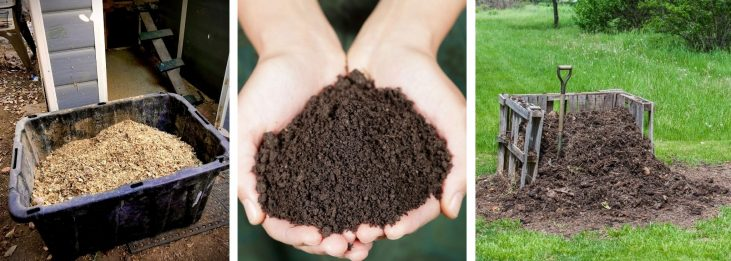 HOW TO MAKE GARDEN SOIL OUT OF CHICKEN MANURE