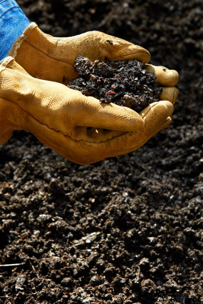 IS COMPOST TO WET OR DRY