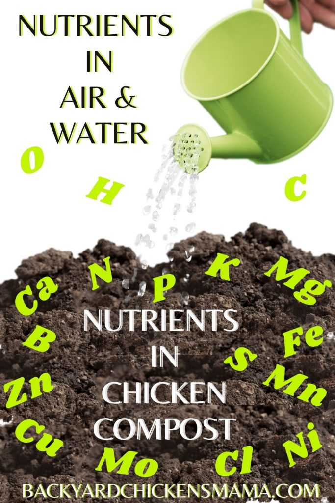 CHICKEN COMPOST CONTAINS BOTH MACRONUTRIENTS AND MICRONUTRIENTS, BOTH WHICH ARE BENEFICIAL NUTRIENTS FOR YOUR GARDEN!