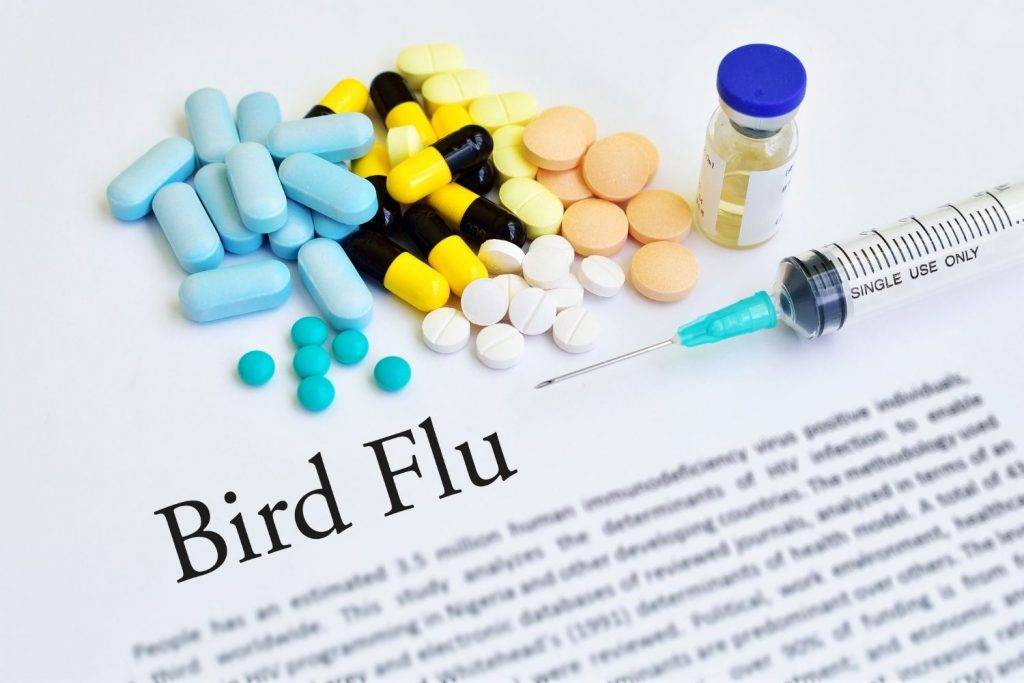 AVIAN INFLUENZA IS A VIRAL DISEASE SPREAD FROM BIRD DROPPINGS AND SECRETIONS.